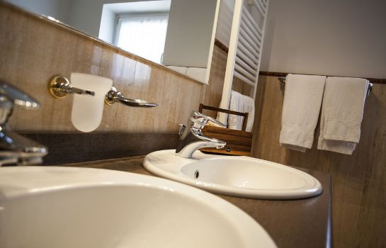 Bagno in camera Hotel Chalet all'Imperatore