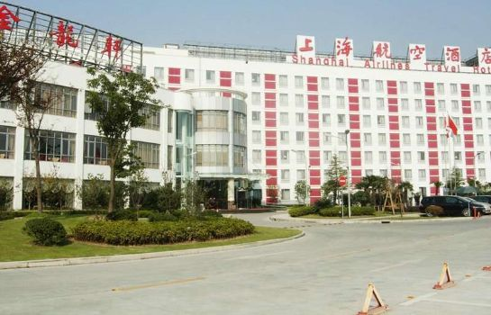 Exterior view Shanghai Airlines Travel Hotel Pudong Airport Branch