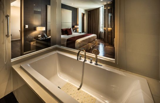Salle de bains Akyra Thonglor Bangkok formerly Pan Pacific Serviced Suites