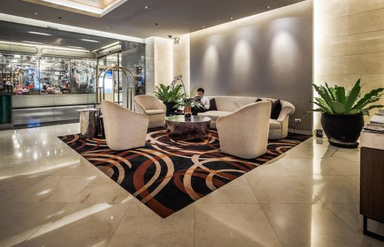 Hotelhalle Akyra Thonglor Bangkok formerly Pan Pacific Serviced Suites