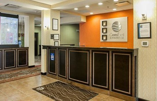Hotelhalle Comfort Inn & Suites Near Fort Gordon