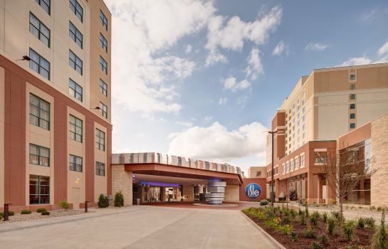 Exterior view Isle Casino Hotel Bettendorf