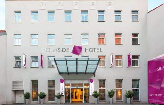 Außenansicht FourSide Hotel City Center Vienna