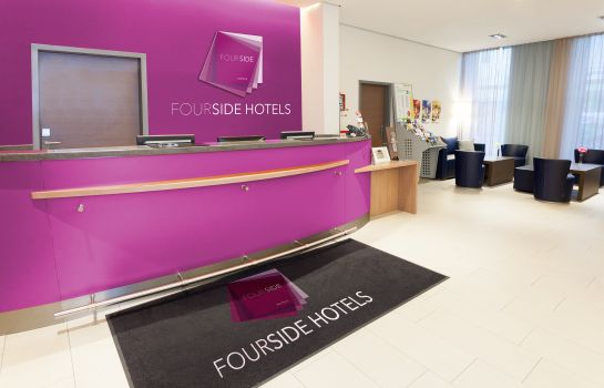 Empfang FourSide Hotel City Center Vienna
