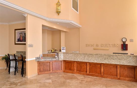 Vestíbulo del hotel Americas Best Value Inn & Suites - Stafford / Houston
