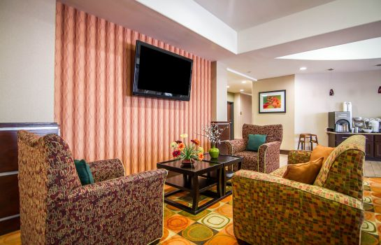 Hol hotelowy Sleep Inn & Suites I-20