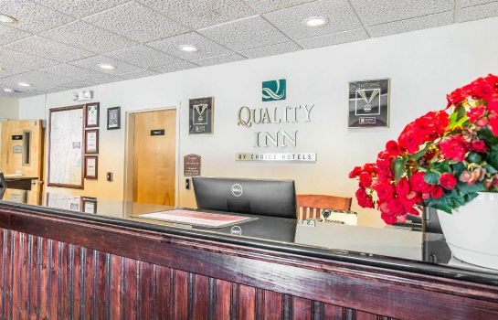 Hotelhalle Quality Inn Shelburne-Burlington