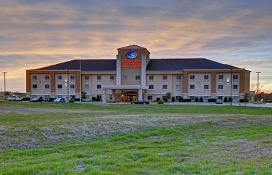 Vista exterior Comfort Suites Near Cedar Creek Lake