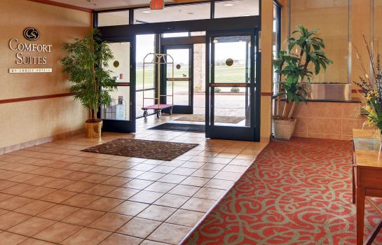 Hotelhalle Comfort Suites Near Cedar Creek Lake
