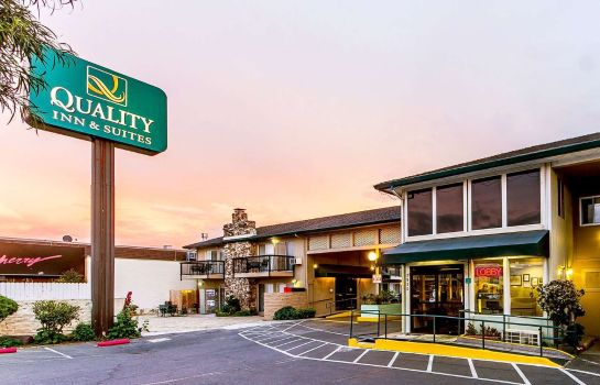 Vista exterior Quality Inn & Suites Silicon Valley