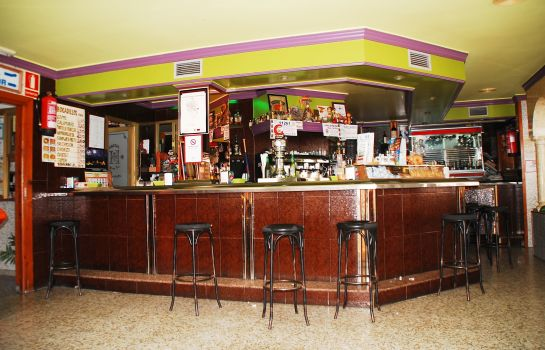 Bar del hotel Mary Tere Hostal