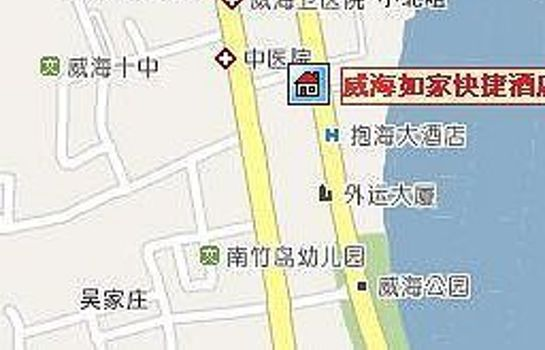 Info Home Inn - Weihai Haibin Road Tourism Terminal Exhibition Center branch