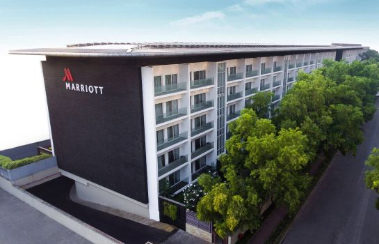 Exterior view Marriott Suites Pune