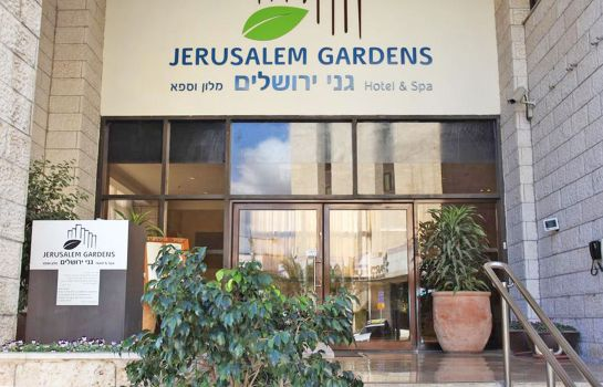 Buitenaanzicht Jerusalem Gardens Hotel and Spa