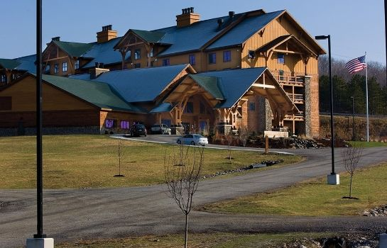 Widok zewnętrzny HOPE LAKE LODGE AND INDOOR WATERPARK
