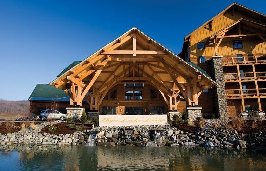 Vista exterior HOPE LAKE LODGE AND INDOOR WATERPARK