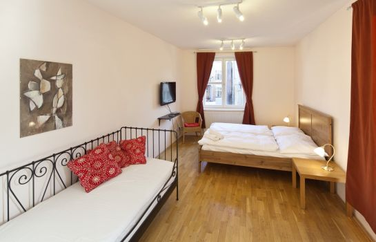 Chambre double (standard) Capital Apartments