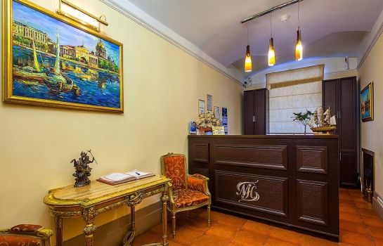 Breakfast room Nevsky Breeze