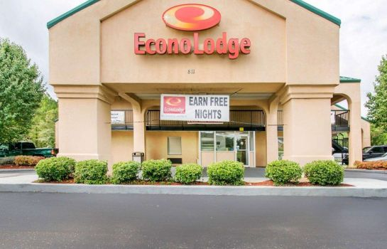 Vista esterna Econo Lodge Troy