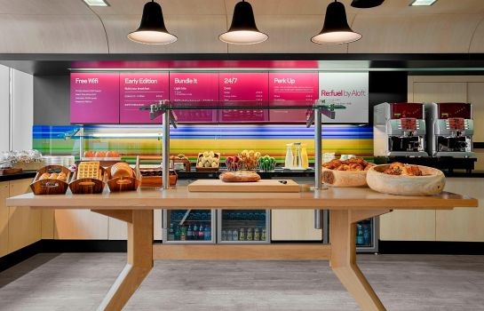 Restaurant Aloft Brussels Schuman