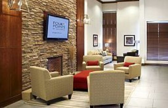 Hall de l'hôtel Four Points by Sheraton Calgary Airport