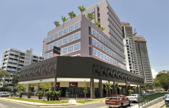 Exterior view Value Hotel Thomson