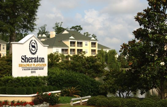 Buitenaanzicht Sheraton Broadway Plantation Resort Villas