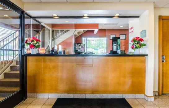 Hol hotelowy Econo Lodge  Inn & Suites I-35 at Shawnee Mission