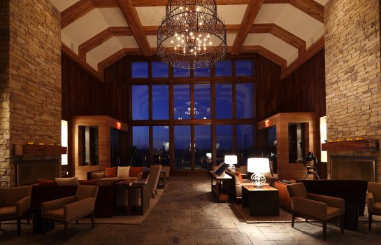 Lobby LODGE AND COTTAGES AT PRIMLAND