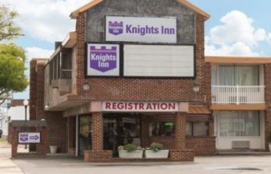 Buitenaanzicht KNIGHTS INN ATLANTIC CITY