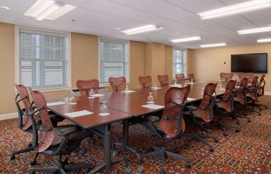Conference room DoubleTree Suites by Hilton Detroit Downtown - Fort Shelby