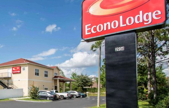 Exterior view Econo Lodge Kissimmee