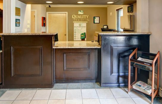 Hotelhalle Quality Inn and Suites Weatherford