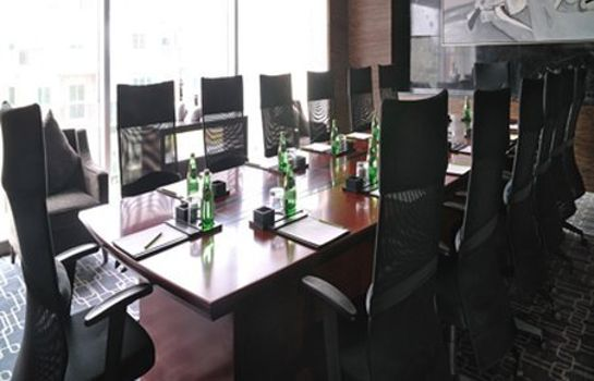 Conference room The Qube Hotel Former name:Eaton Luxe Nanqiao