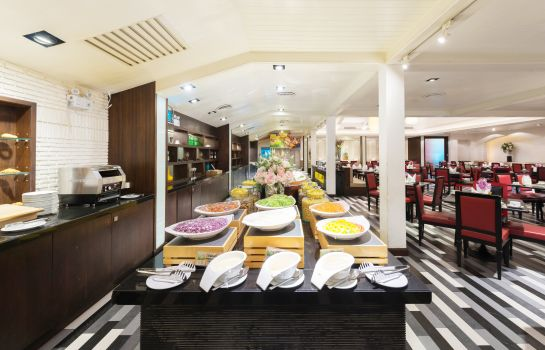 Breakfast room A-One Boutique Hotel Bangkok