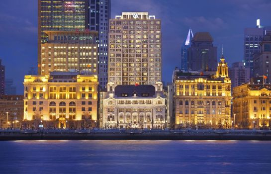 Außenansicht Waldorf Astoria Shanghai on The Bund