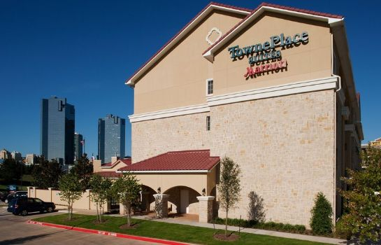 Exterior view TownePlace Suites Fort Worth Downtown