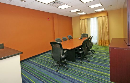 Conference room Fairfield Inn & Suites Raleigh-Durham Airport/Brier Creek