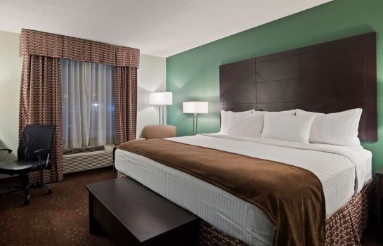 Zimmer BEST WESTERN PLUS COLUMBIA INN