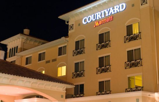 Exterior view Courtyard Fort Myers at I-75 and Gulf Coast Town Center