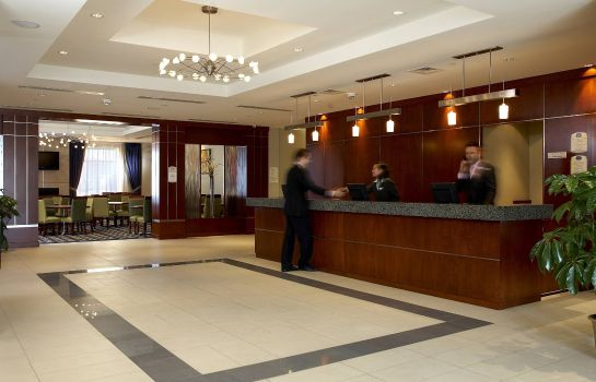 Hol hotelowy Fairfield Inn & Suites Montreal Airport
