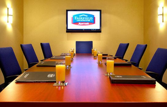 Conference room Fairfield Inn & Suites Montreal Airport