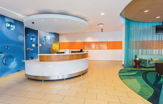 Hotelhalle SpringHill Suites Tampa North/I-75 Tampa Palms