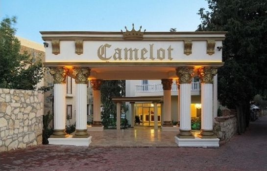 Exterior view Camelot Boutique & Beach