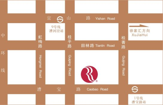 How to find us Ramada Plaza Shanghai Caohejing (New Building)