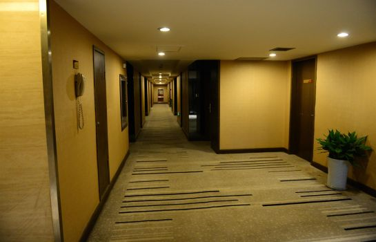 Interior view Forest City Hotel