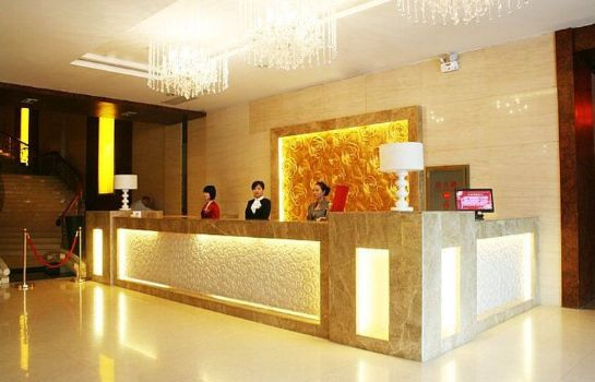 Hol hotelowy ZHUO FAN BUSINESS HOTEL