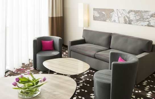 Pokój typu junior suite Mercure Hotel MOA Berlin
