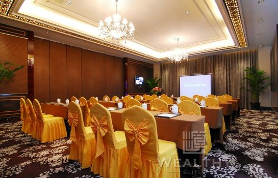 Conference room Wealthy Hotel Suzhou