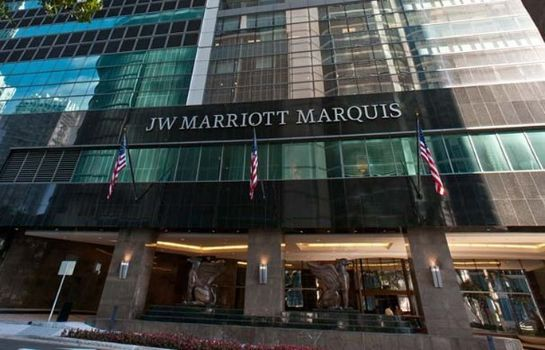 Exterior view JW Marriott Marquis Miami